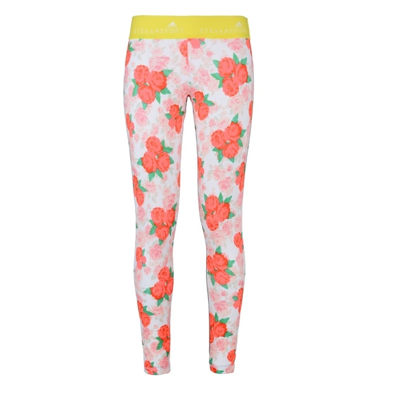 cf6454f03e Adidas by Stella McCartney Pants - Adidas Stella Sport Floral Leggings, Sz S